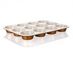 BANQUET Forma na 12 muffinů s keramickým povrchem 35x26,5x3 cm