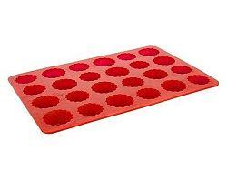 BANQUET Forma na 24 báboviček silikonová Red 32x22x1,5 cm