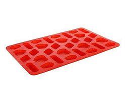 BANQUET Forma na cukroví silikonová Red 31x21x1 cm