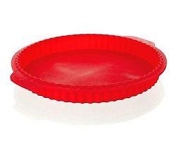 BANQUET Forma na koláč silikonová CULINARIA Red 27x3,5 cm