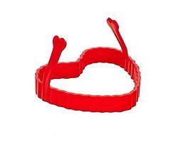 BANQUET Forma na smažení silikonová Red 9 cm, srdce