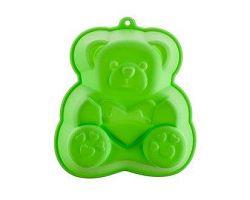 BANQUET Forma silikonová Green 14,2x12,3x3,5 cm, medvídek