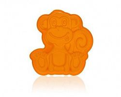 BANQUET Forma silikonová Orange 19,5x19,5x4,7 cm, opička