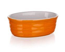 BANQUET Forma zapékací oválná Orange 12,5x8,5 cm