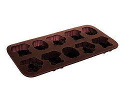 BANQUET Formičky na čokoládu silikonové 20,3x10,6 cm, zvířátka