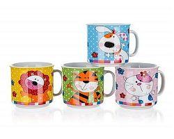 BANQUET Hrnek dětský ANIMALS, mix dekorů