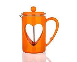 BANQUET Konvice na kávu DARBY 0,8 l, oranžová