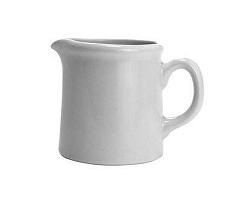 BANQUET Mléčeka keramická 240 ml, bílá