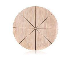 BANQUET Prkénko krájecí dřevěné na pizzu BRILLANTE 32 x 1,5 cm