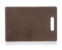 BANQUET Prkénko krájecí plastové GRANITE Dark Brown 30 x 20 x 0,8 cm