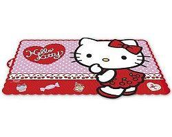 Banquet prostírání Hello Kitty red 2 44x30