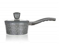 BANQUET Rendlík s nepřílnavým povrchem GRANITE 16 cm, poklice, stříkané dno