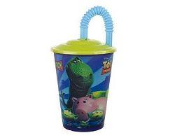 BANQUET Toy Story L pohárek s víčkem 450 ml