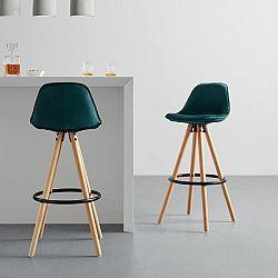 Barová Židle Celia Zelená