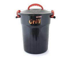 Box úložný na dřevěné uhlí 25 l