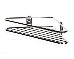 BRILANZ Polička drátěná rohová MAGNAT 19 x 19 x 4 cm