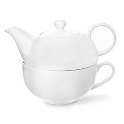 Čajová soup. porc. 2 ks WHITE