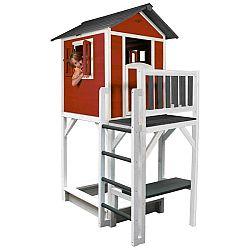 Dětský Záhradný Domeček Sunny Lodge Xxxl Červená
