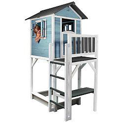 Domeček Pro Děti Sunny Lodge Xxxl Modrá/bílá