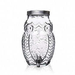 Láhev sklo+kohoutek SOVA 5,2 l
