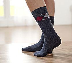 Magnet 3Pagen 10 párů dámských ponožek antracitová 35-38