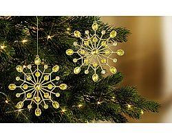 Magnet 3Pagen 2 hvězdy k zavěšení na strom