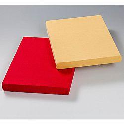 Magnet 3Pagen 2 napínací prostěradla, červená 100x200x25cm