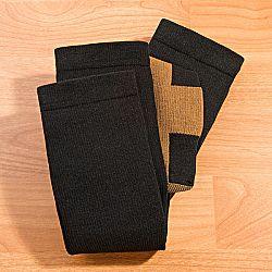 Magnet 3Pagen 2 páry podkolenek s měděnými vlákny černá 39-42