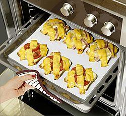 Magnet 3Pagen 2 trvanlivé pečicí fólie, bílá