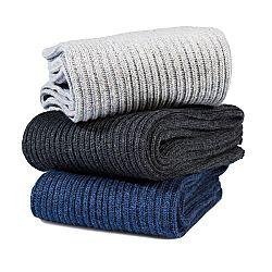 Magnet 3Pagen 3 páry dámských ponožek pro diabetiky modrá,světle šedá,béžová 39-42