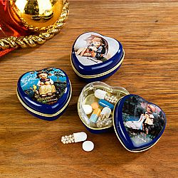 Magnet 3Pagen 3 srdcové krabičky na léky Hummel