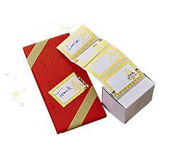 Magnet 3Pagen 40 jmenovek na dárky v boxu zlatá