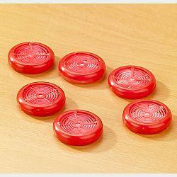 Magnet 3Pagen 6 osvěžovačů vzduchu, červená