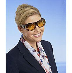 Magnet 3Pagen Brýle pro noční řízení, hnědá