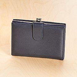 Magnet 3Pagen Dámská peněženka, námořnická modrá 14x10cm