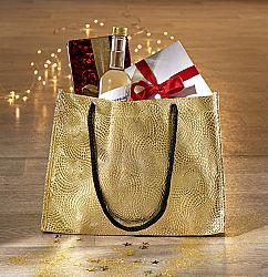 Magnet 3Pagen Dárková taška zlatá