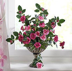 Magnet 3Pagen Divoké růže v květináči