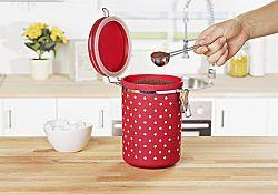 Magnet 3Pagen Dóza na kávu červená-bílá