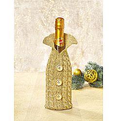 Magnet 3Pagen Kabátek na lahev zlatavá
