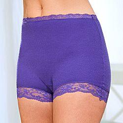 Magnet 3Pagen Kalhotky s vysokým pasem fialová 36/38