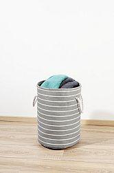 Magnet 3Pagen Koš na prádlo šedá-bílá