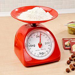 Magnet 3Pagen Kuchyňská váha, červená