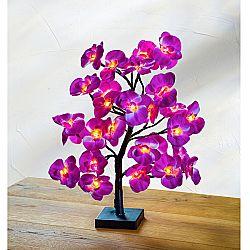Magnet 3Pagen LED strom s orchidejemi