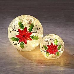 Magnet 3Pagen LED světlo Skleněná koule velké 13,5cm