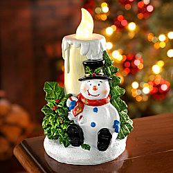 Magnet 3Pagen LED svíčka se sněhulákem