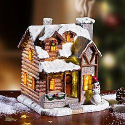 Magnet 3Pagen LED vánoční domeček