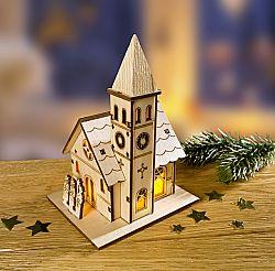 Magnet 3Pagen LED Vesnický kostel