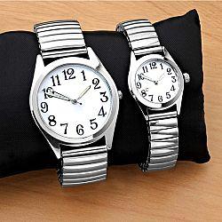 Magnet 3Pagen Náramkové hodinky stříbrná pr. 35cm