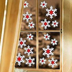 Magnet 3Pagen Obrázky okenní Ledové krystaly,18 dílů