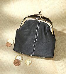 Magnet 3Pagen Peněženka na zacvaknutí černá